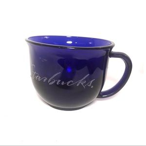 Starbucks Etched Script Cup (H)